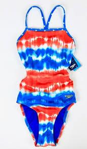 Speedo Two Piece Size Chart Speedo Womens Girls Swimsuit 24 Endurance Lite Red White
