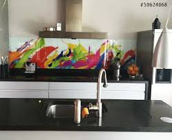 kitchen splashback abstract