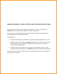 Resume Job Application Cover Letter Examples Template For Sample