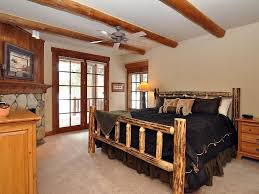 luxury private log home on 8th tee of keystone s river golf course