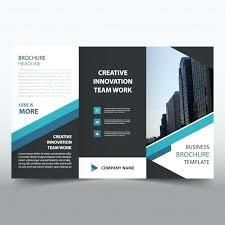 Quad Fold Brochure Template Word Folded Flyer Template