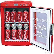 portable coca cola fridges retro style