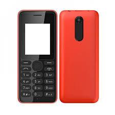 Body Housing for Nokia 108 Dual SIM - Red