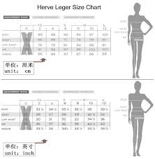 Labels Empire Herve Leger Size Chart