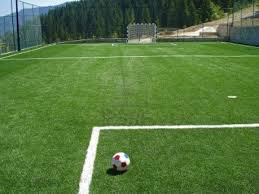 Commercial Grade Inflatable Soccer Field Blow Up Football Soap Football Field In Backyard