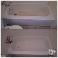 before and after tub reglazing