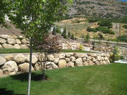 Rock Walls traditional-landscape