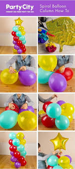spiral balloon columns
