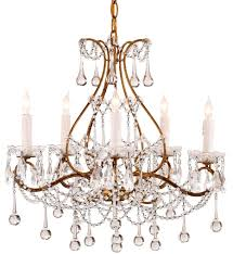 currey company 9008 paramour 5 light chandelier with smoke gold finish