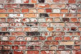 old brick wall colour