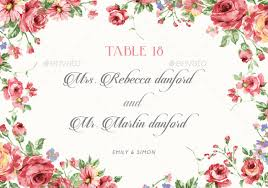 rustic floral wedding invitations by bnimit graphicriver
