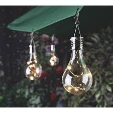 Everlasting Glow Garland Lights Gerson Everlasting Glow Clear Edison Bulb 5 5 In H X 2 75