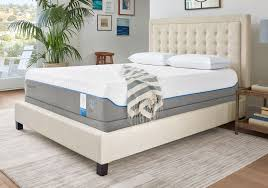 tempur mattress. with an extra thick comfort layer it is a medium support mattress the tempur foam redistributes your weight making you feel like are sleeping on