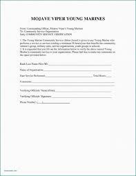 039 Template Ideas Community Service Letter Hours 374200