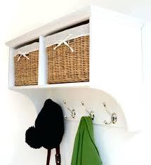 Ebay Coat Rack Coat Hooks With Storage Baskets White Wooden Coat Rack With Storage 98