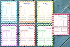 Making A Daily Planner Daily Planner Every Day Planner Chevron Planner 7