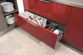 red laminate gloss kitchen drawers countertops suppliers