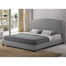 gray platform bed king. Wonderful King To Gray Platform Bed King