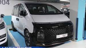 See How The Hyundai Staria Minivan Actually Looks In Real Life