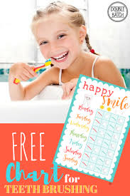 Free Printable Chart For Kid Cavity Fighters Making
