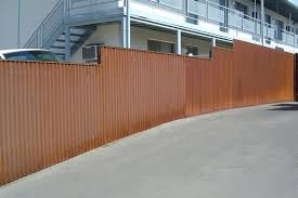 corrugated steel fence rusted corrugated metal fence spectacular ideas corrugated metal fence panels design ideas corrugated