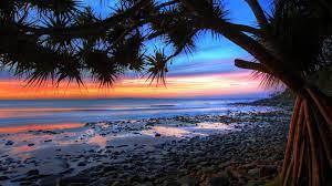 Beach sunset wallpaper, Beach wallpaper ...