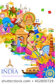 Photo Chart Of Indian Festivals Indian Culture Images Stock Photos Vectors Shutterstock