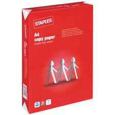 Staples Kopierpapier A4 80 G M Wei Staples