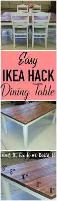 diy furniture refinishing projects. Transform A Basic IKEA Dining Table Into Plank-style In Few Simple Steps. Tutorial On How To DIY Your Own Table. Diy Furniture Refinishing Projects