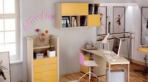 teen bedroom ideas yellow. Bedroom, Outstanding Teenage Rooms Bedroom Ideas Ikea Yellow Cabinets With Table Chaits And Books Teen