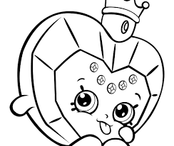 Impressive Kids Coloring Pages Shopkins Best Animals Flower Page For
