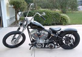 1990 evo harley hardtail bobber motorcycle by terry