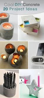 Cool Diy Projects Best 25 Concrete Projects Ideas Only On Pinterest Concrete