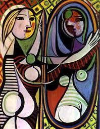 Resultado de imagem para pintura espelho