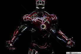 Iron Man Neon Zeichnung HD ...