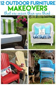 12 outdoor furniture makeovers easier