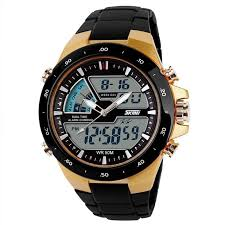17 best images about mens watches color black men sport watch waterproof military multifunctional wristwatches