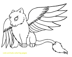 Easy Drawing Pictures Of Animals Cute Drawings Coloring Pages