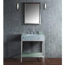 ariel by seacliff brigher 30 single sink bathroom vanity set scbri30pss inspired by mid century