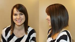 Aline Hair Style how to cut womens hair dramatic bob haircut youtube 1499 by wearticles.com