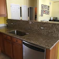 Kashmir Gold Granite Kitchen Kashmir Gold Granite Mandel Natural Stone Kitchen And Bath Llc