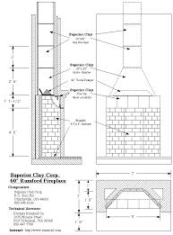 fireplace construction plans