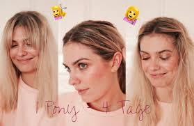 Mini Haar Tutorial 4 Easy Styles Für Den Pony Journelles