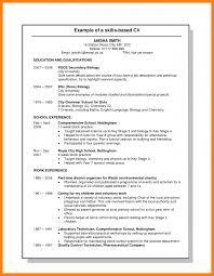 Chemistry Skills Resume Resume For Your Job Application
