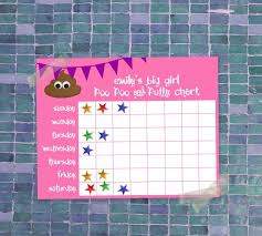 Potty Sticker Chart Diy Potty Training Chart Diy