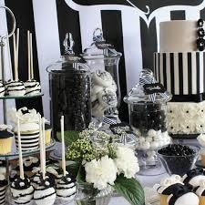 elegant black and white wedding 56 elegant black and white wedding dessert tables happywedd com