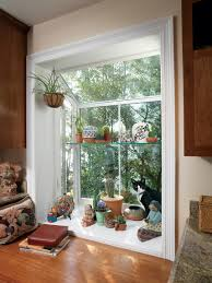 Garden Windows For Kitchens Garden Window Decorating Ideas To Brighten Up Your Home