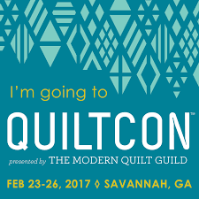 The QuiltCon 2017 blog button is here! | The Modern Quilt Guild & Search our blog Adamdwight.com