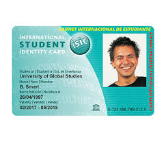 Id Online Student Template Resume Card