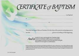 Sample Baptism Certificate Template Awesome Free Printable Baptism Certificates Templates Scugnizziorg